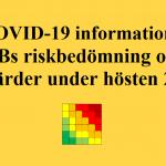 KVBs riskbedömning och åtgärder